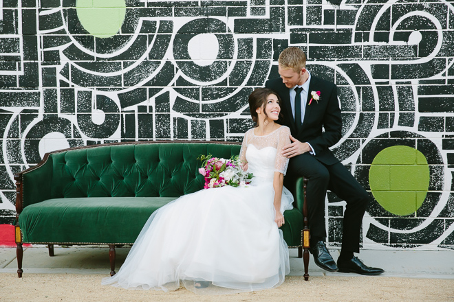 Palm Springs wedding at the Ace Hotel
