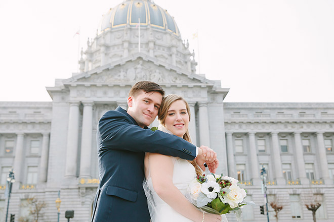 San Francisco City Hall Wedding Photos