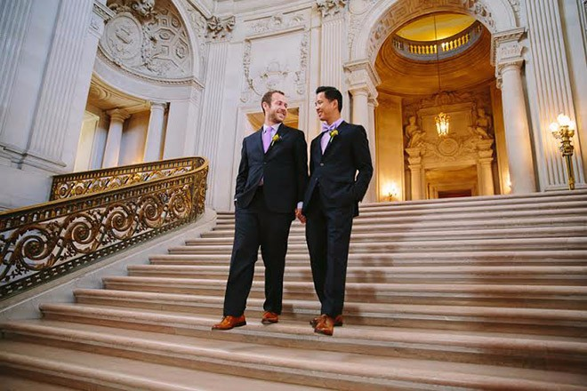 from Andres san francisco gay marriage ceremony