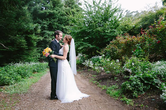 San Francisco Golden Gate Park Wedding
