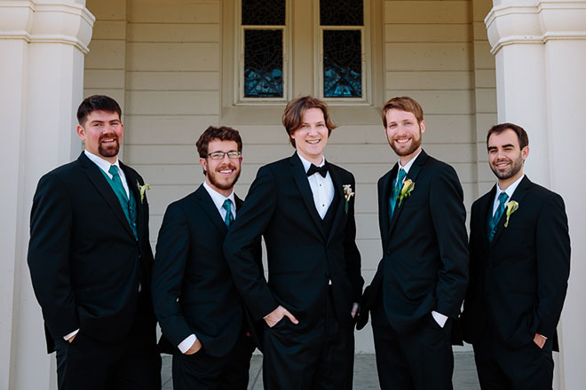 San Francisco Theological Seminary Wedding Photos
