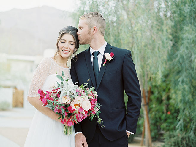 Palm Springs Ace Hotel wedding photos