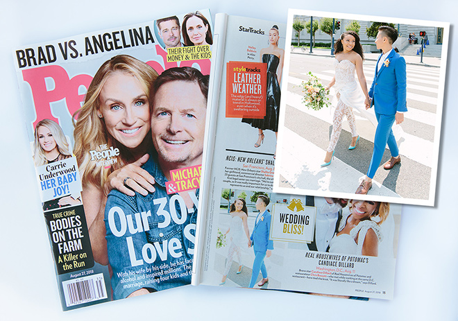 San Francisco City Hall wedding featured in People Magazine