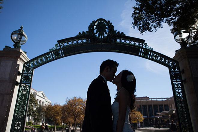 UC Berkeley Faculty Club Wedding